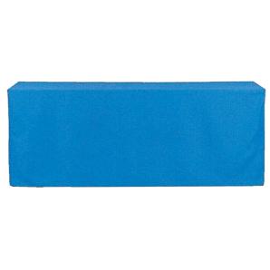 ボックス型クロス青