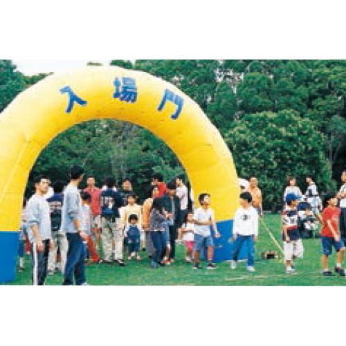 エアアーチ6m(半円)