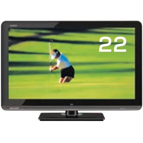 22型液晶ディスプレイテレビ
