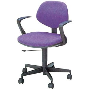 事務用回転椅子肘掛付